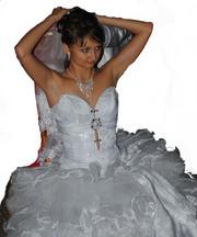 Продам свадебное платье. 1раз одето! -=ТОРГ=-