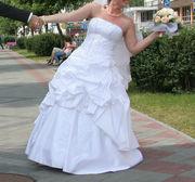свадебное платье размер 46-48