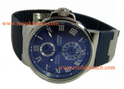Часы Ulysse Nardin Le Locle Suisse - шикарные часы,  каучуковый ремешок