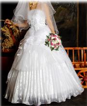 платье свадебное,   карсетный вариант.