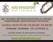 покупаем автокатализаторы и керамический монолит Польша Познань
