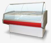 Холодильная низкотемпературная витрина