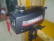 Двухтактный лодочный мотор Fisher T2.5BMS