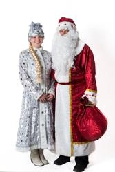 Дед Мороз и Снегурочка в Бресте