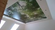 натяжные потолки : бесшовные,  глянцевые,  матовые,  многоуровневые,  широ