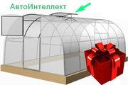 Купить теплицу «Сибирская АвтоИнтеллект XXL» 10x3x2