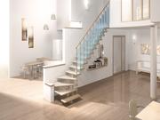 Модульные лестницы на второй этаж для коттеджа в Бресте