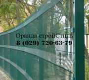 Модульный металлический забор в Бресте