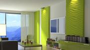 3D (3Д) гипсовые стеновые панели  Бресте и обоасти