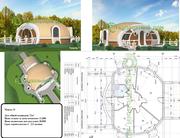 Купольные и арочные дома,  дачи,  кафе,  туристические центры,  склады