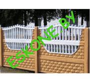 Заборы,  ворота,  тротуарная плитка
