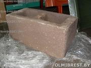 Блоки демлер,  цементно-песчаные блоки,  декоративные блоки,  рваные
