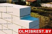 Газосиликатные стеновые блоки в Бресте высочайшего качества