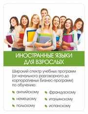 Курсы изучения языка.Польский,  итальянский,  испанский и т д