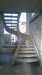 Монолитные лестницы, перила.