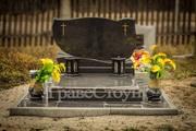 Установка памятников  Благоустройство могил