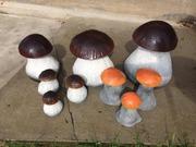 Декор для дачи,  сада,  участка - Красивые грибы