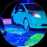 Светящаяся краска для автотюнинга