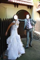 оригинальное свадебное платье